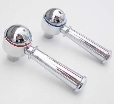 Pegler Recollections Chrome Lever Tap Heads - 584Y2003